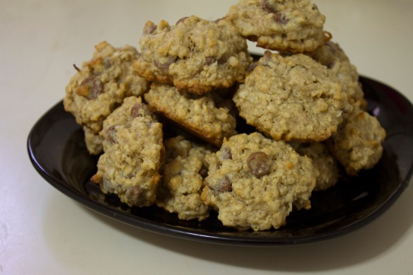 Chocolate Coconut Oatmeal Cookies at Square Root of Pie
