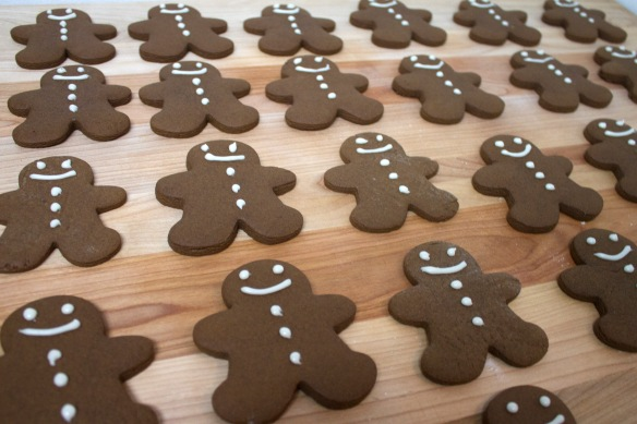 Gingerbread Cookies from Square Root of Pie