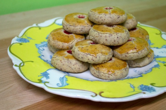 Chinese Almond Cookies from Square Root of Pie