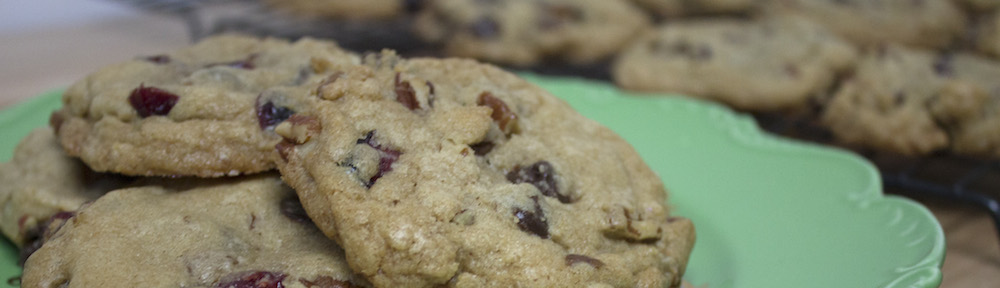 Chocolate Chip Cranberry Pecan Cookies from Square Root of Pie