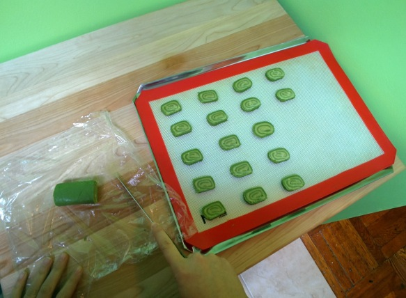 Matcha Shortbread Cookies from Square Root of Pie