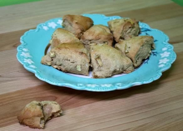 Apple Pie Scones from Square Root of Pie