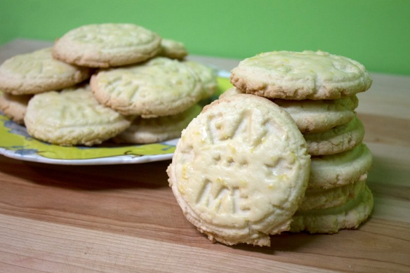 Glazed Lemon Sugar Cookies from Square Root of Pie